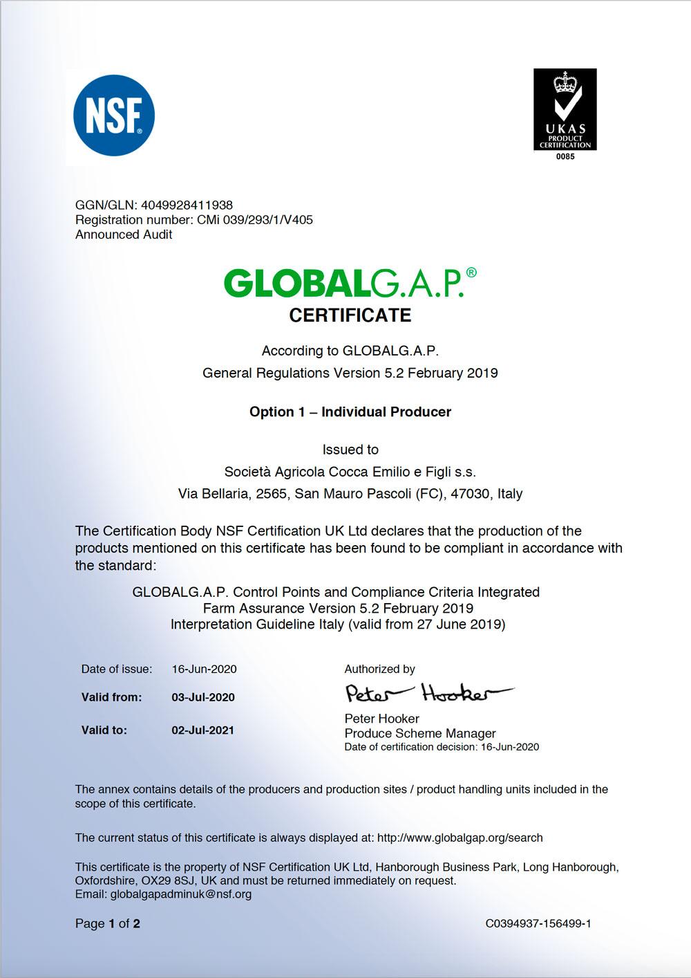 Cert-GLOBAL-GAP-COCCA-2020_Fronte